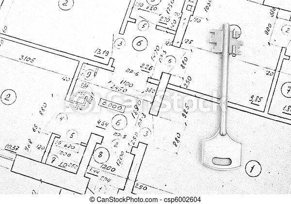 La llave de una casa - csp6002604