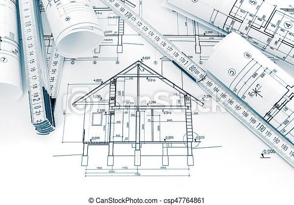 Planos Planes Tecnico Casa Rollos Dibujos Renovacion Planos
