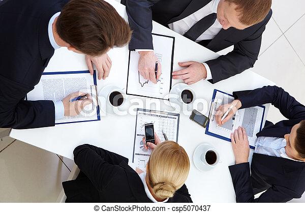 planowanie, praca - csp5070437