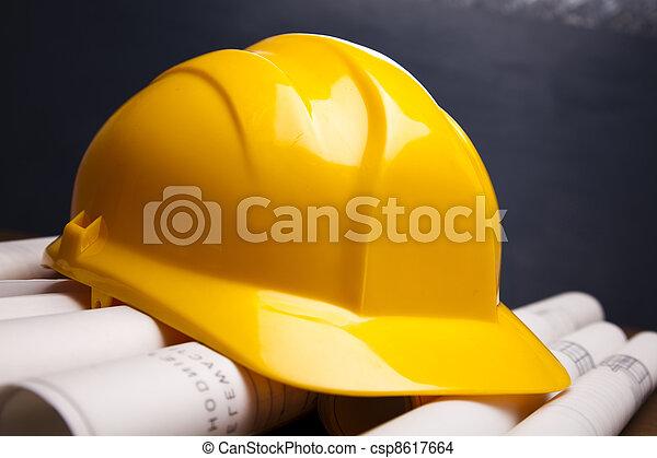 plans, bâtiment - csp8617664