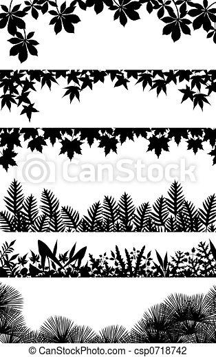 Plant borders - csp0718742