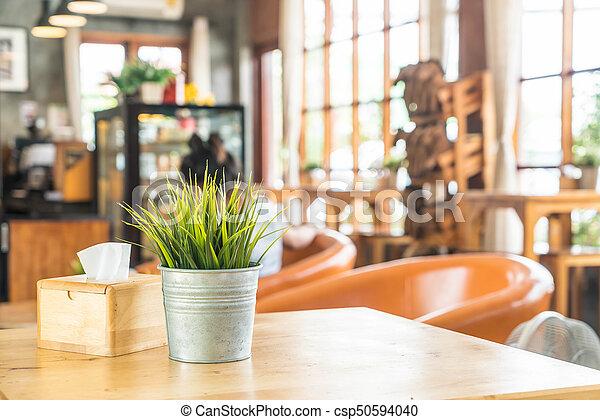 plant in pot decoration - csp50594040