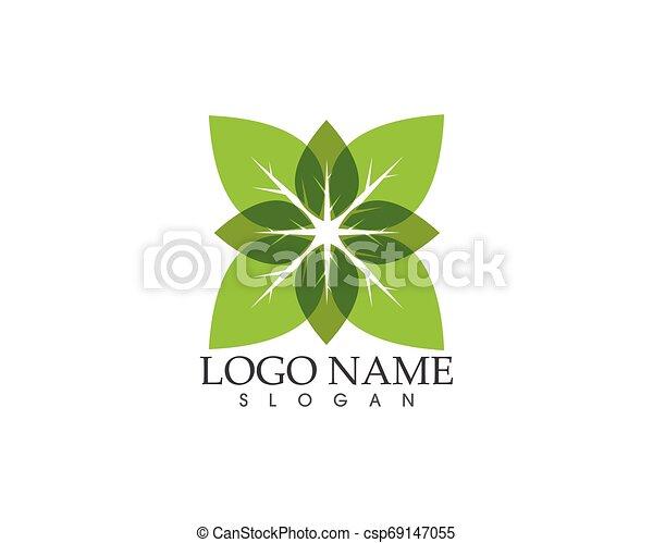 Ilustración de vectores de la planta verde - csp69147055