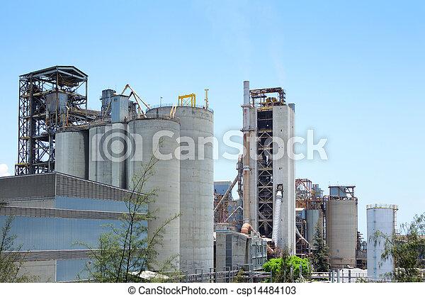 planta, industrial - csp14484103