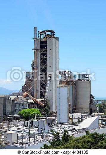 planta, industrial - csp14484105
