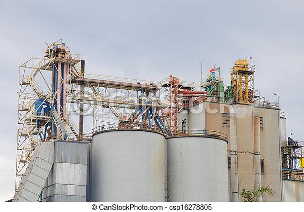 Planta industrial - csp16278805