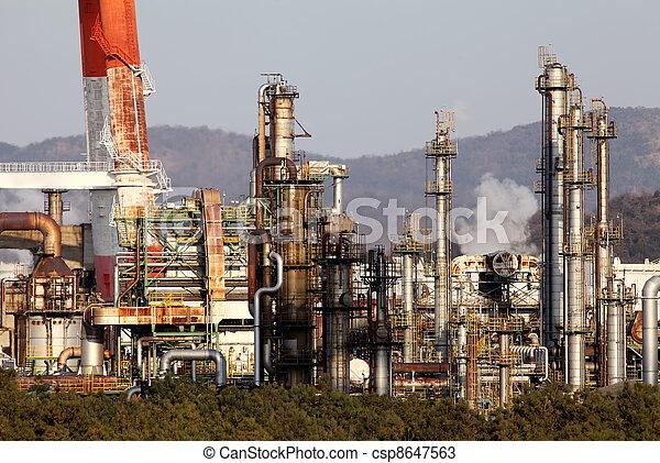 planta, industrial - csp8647563