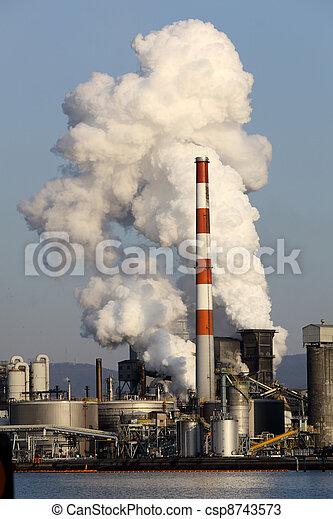 planta, industrial - csp8743573