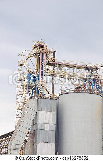 planta, industrial - csp16278852