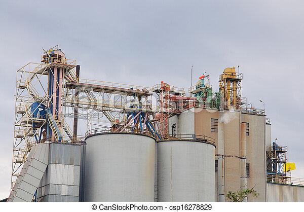 planta, industrial - csp16278829