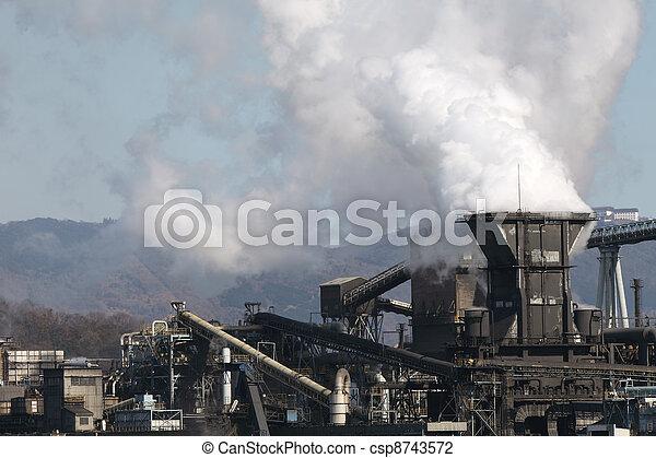 planta, industrial - csp8743572