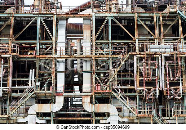 planta, industrial - csp35094699