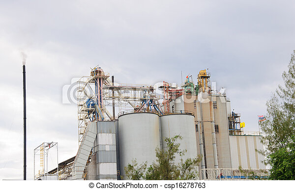 planta, industrial - csp16278763