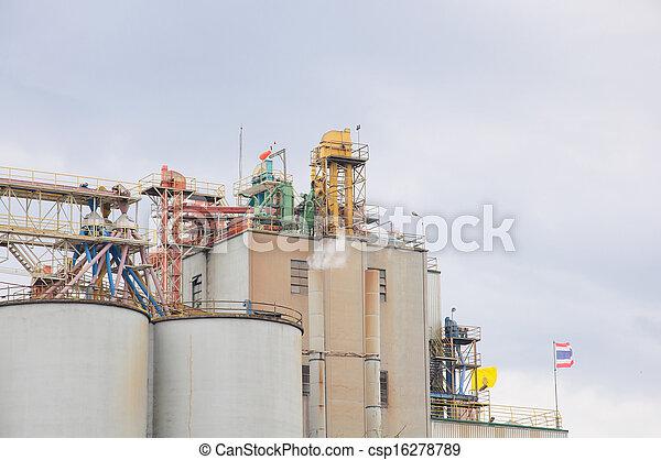 planta, industrial - csp16278789