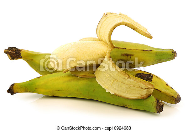 plantain (baking) banana - csp10924683