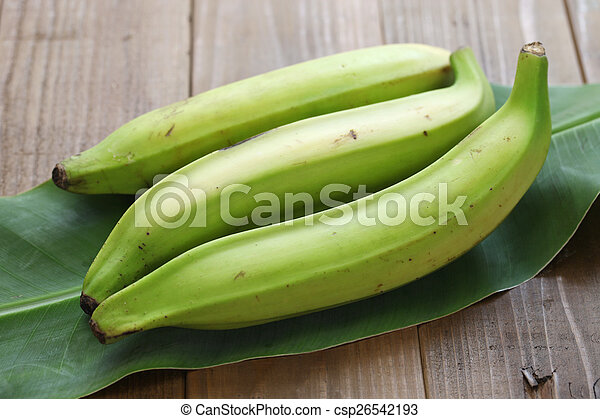 plantain banana - csp26542193
