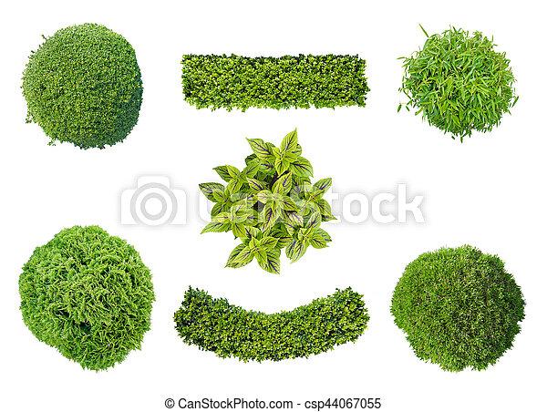 Plantas en vista aérea - csp44067055