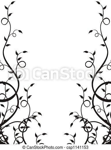 El marco de las plantas - csp1141153