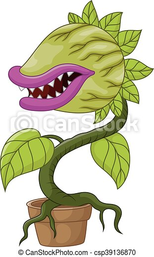 [Jeu] Association d'images - Page 38 Plante-carnivore-dessin-anim%C3%A9-image_csp39136870