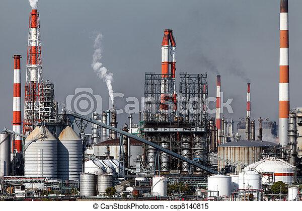 plante, industriel - csp8140815