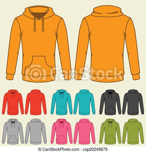 plantillas, sweatshirts, conjunto, coloreado, women. - csp20249679