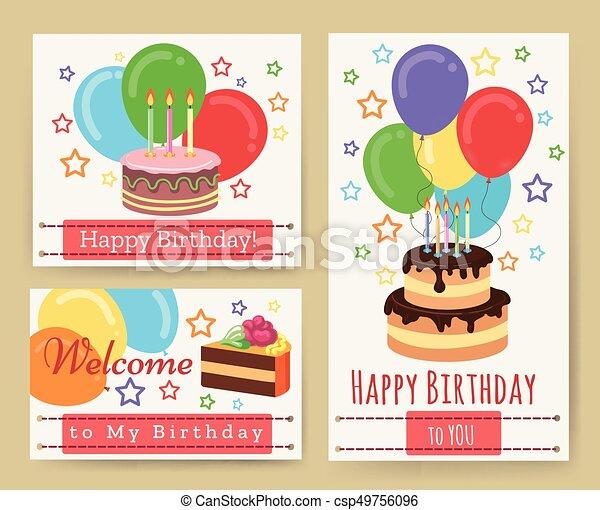 Tarjetas De Tarjetas De Cumpleaños Para Niños Las