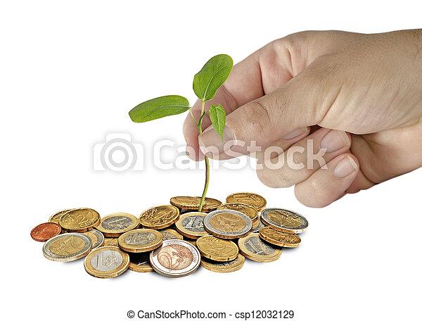 Planting tree - csp12032129