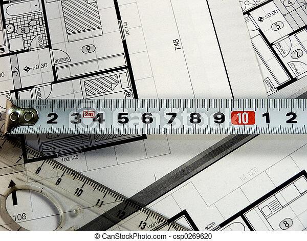 planung, architektur - csp0269620