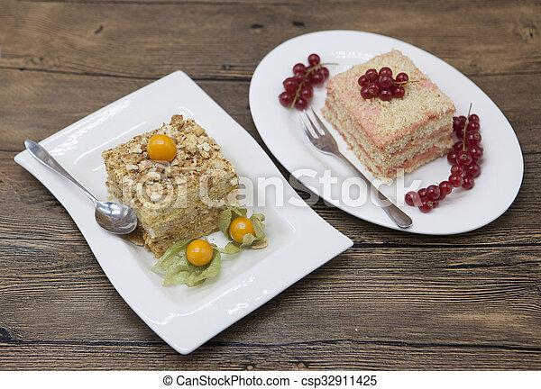 plan de régime de gâteaux