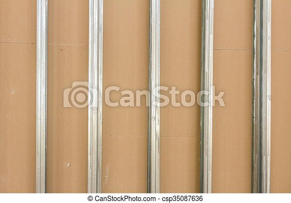 Plasterboard wall - csp35087636