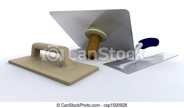 Plasterers tools - csp1500928