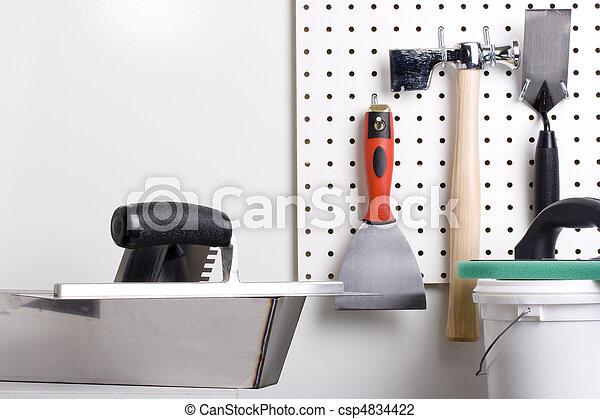 Plastering tools - csp4834422