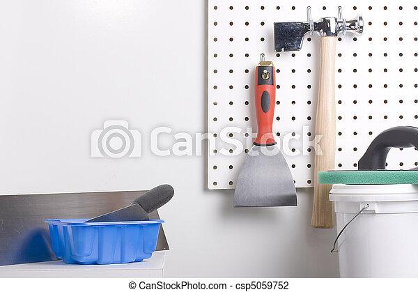 Plastering tools - csp5059752