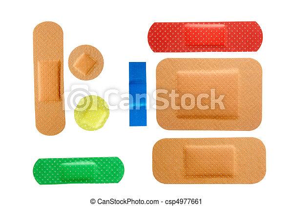 plasters group - csp4977661