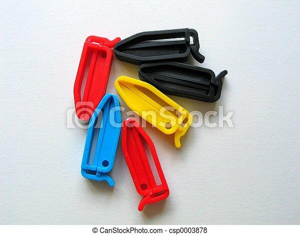 Plastic clips - csp0003878