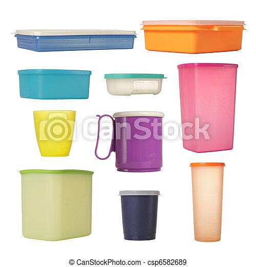 plastic container - csp6582689