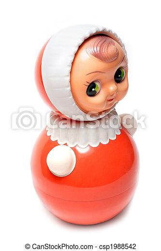 Plastic doll - csp1988542