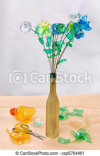 plastic recycling - csp5764461