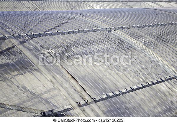 Plastic roof - csp12126223