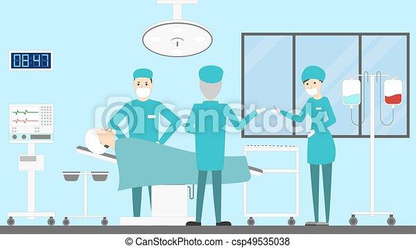 Plastic surgery clinic - csp49535038