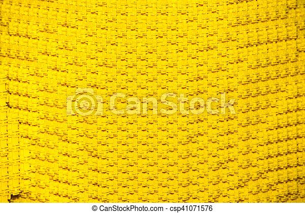Plastic yellow construction blocks - csp41071576