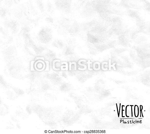 Plasticine background white - csp28835368