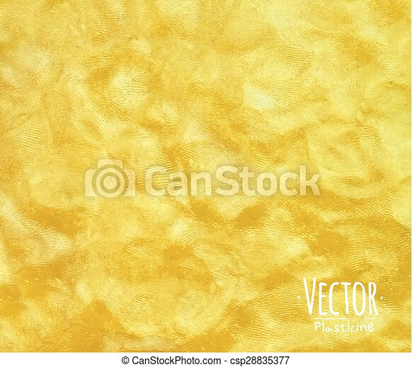 Plasticine background yellow - csp28835377
