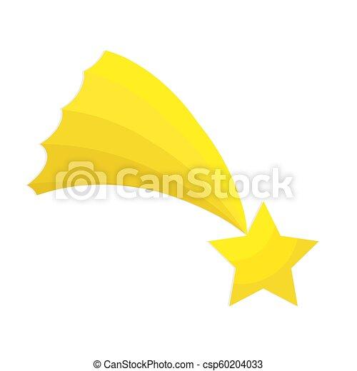 plat, étoile, illustration, vecteur, bethlehem, blanc, icône, noël, stockage - csp60204033