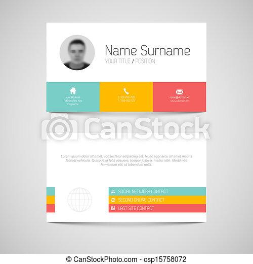 plat, business, moderne, utilisateur, gabarit, interface, carte - csp15758072