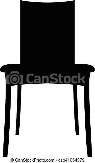 plat, eps, eps10, jpg, vecteur, icône, chaise, sentier, icône - csp41064379
