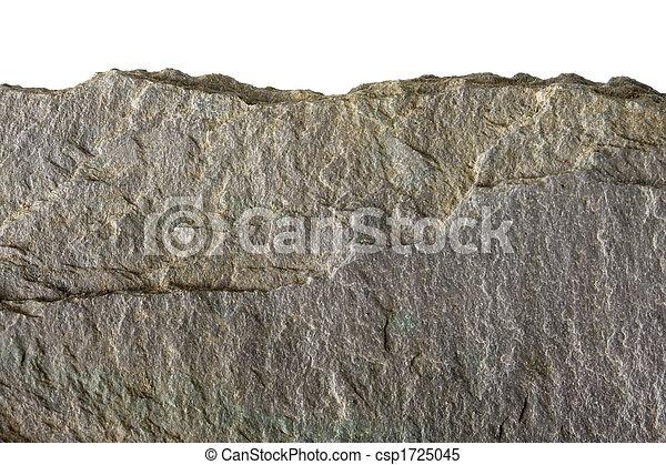 plat, pierre, bord, marcher, rocher, ou - csp1725045