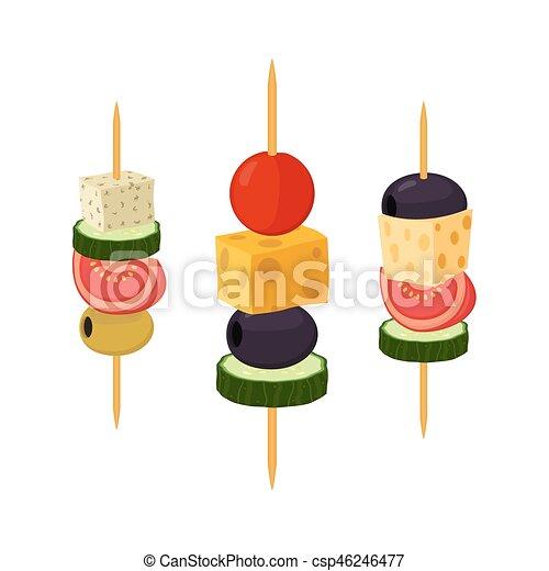 Plat Restaurant Tapas Nourriture Canapes Buffet Apéritif Snack Style
