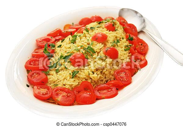 plat riz curry indien tomatos basmati traditionnel image de stock recherchez photos. Black Bedroom Furniture Sets. Home Design Ideas