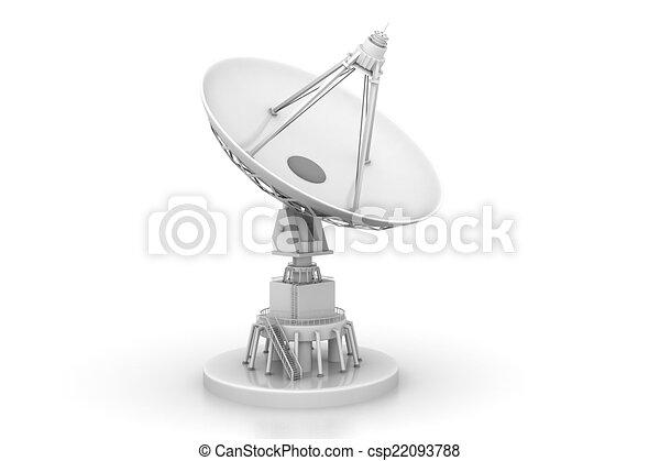 plat satellite - csp22093788